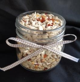 Hot ginger sun - Vegan snack Jar small Ready