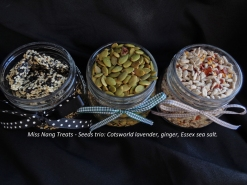 Miss Nang Vegan seeds trio