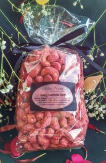Nang Cashew-Beet in compostable packging