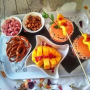 Miss Nang Treats tropical sip Cocktail serving